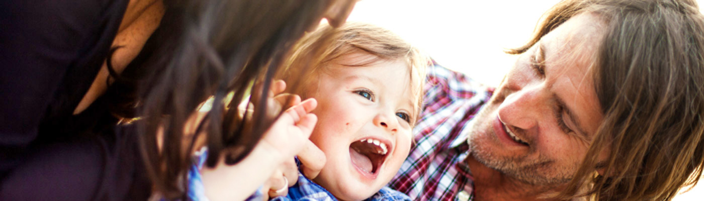 Kinder sind eine Quelle der Freude.